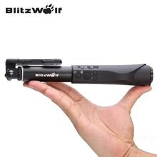 BlitzWolf Портативный Выдвижная Bluetooth Провода Беспроводной Selfie Монопод Палочки Универсальный Для Samsung Для iPhone Для Samsung
