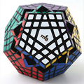 2016 New MF8 Gigaminx Plastic Magic Cube Puzzle Black Color Hot Selling Brain Teaser Twisty Speed Puzzle Toys for Children