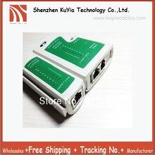 RJ45 RJ11 Free Shipping Dropshipping Wholesale 10pcs/lot Cat5e Cat6 Network Lan Cable Tester Test Tool w/ Package