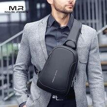 Mark Ryden Multifunction Crossbody Men Bags Waterproof USB C