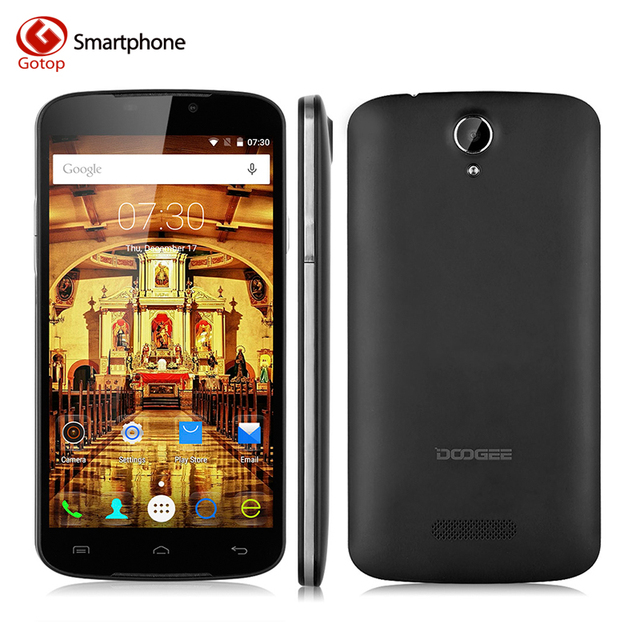 Оригинал Doogee X6 Pro MT6735 4 Г LTE Смартфон Quad Core 5.5 Дюймов 1280*720 2 Г RAM 16 Г ROM Dual SIM Карты для Android 5.1 Сотовый Телефон