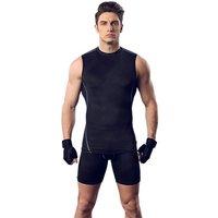 Fashion Men's Sportwear Stretch Vest Tee Shirt Tank Top Man