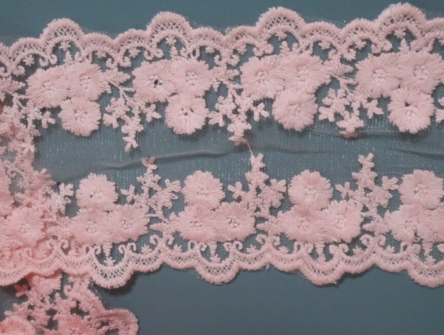 Silk Ribbon Embroidery with beadwork.