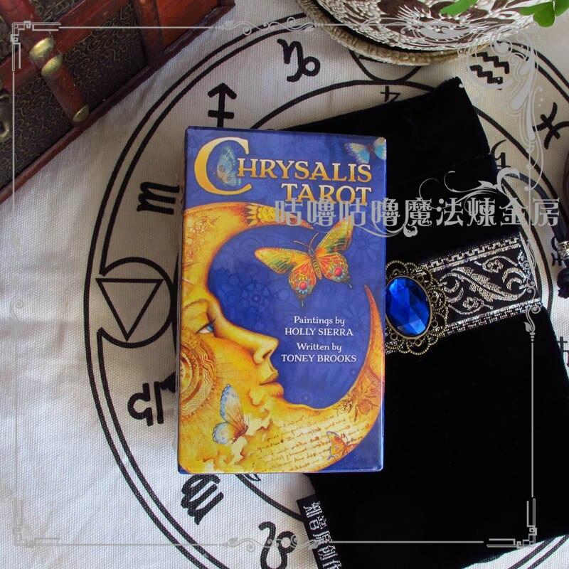 Original Chrysalis Tarot cards all English version 78 pcs set boxed playing card Mysterious tarot board