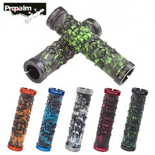 Taiwan PROPALM Comfortable Mtb Grips Bicycle Handlebar Grips Rubber lock Non-slip Mtb Bike Grips 5 Colors цена