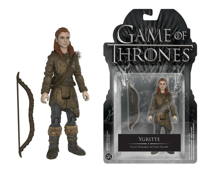 Game of Thrones Ygritte with Arrow Collectible Model Toy with Original Pacakge