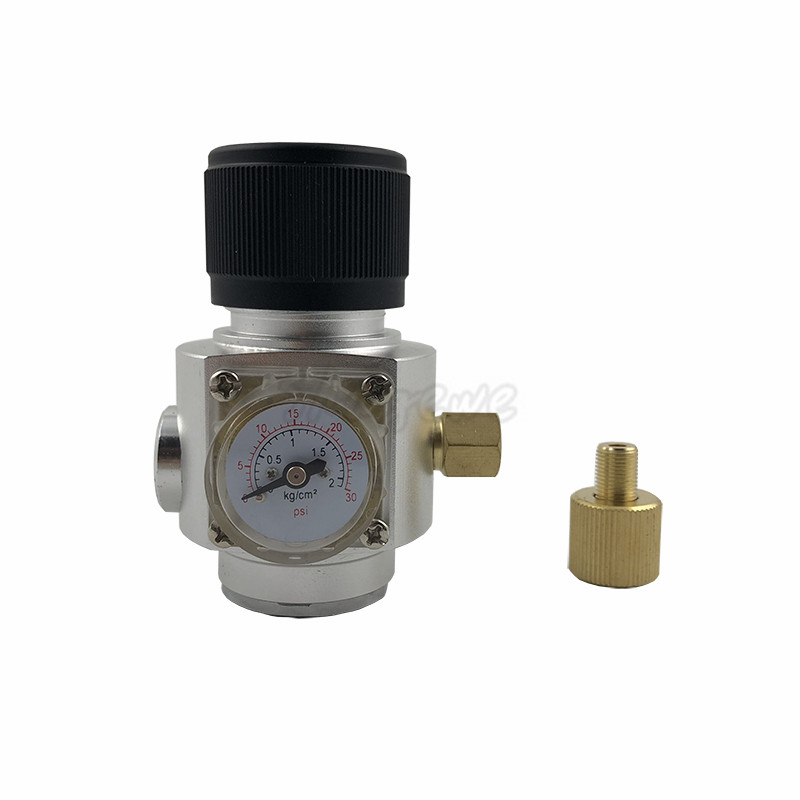Homebrew CO2 Mini Gas Regulator 30PSI with 38 thread For Beer Brewing (7)