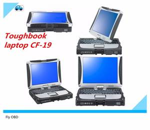 Laptop Toughbook Cf 19 Three-Year-Warranty Panasonic Top-Quality DHL