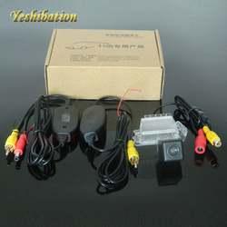 Yeshibation Беспроводной заднего вида Камера для Ford EcoSport 2004 ~ 2012 Беспроводной Реверсивный Камера HD CCD Ночное видение