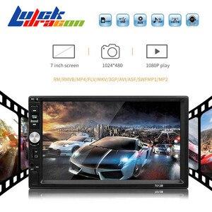 Car Radio Bluetooth Handsfree Car MP5 Player Autoradio 2 Din Mirrorlink Reverse Image Support Rear View Camera Car Stereo FM/TF(China)