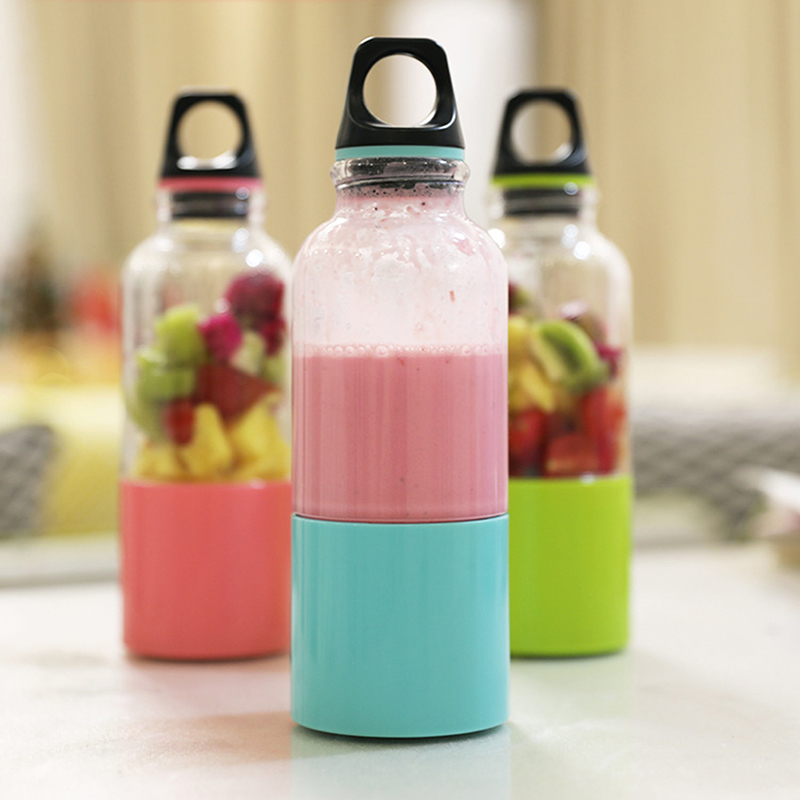 Nordic Style Portable Household High quality Portable Practical Concise Style Mini USB Charging Juicer Cup in Teacups from Home Garden