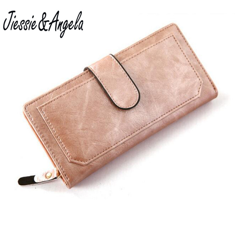 Brand Design PU Leather Women Wallets Cell phone Card Holder Long Lady Wallet Purse Clutch Handbag - One Girl's store