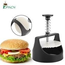 1 Набор круглой формы пресс для гамбургера из нержавеющей стали машина для приготовления котлеты для гамбургера пресс для бургера для приготовления мяса Формы Кухонные гаджеты