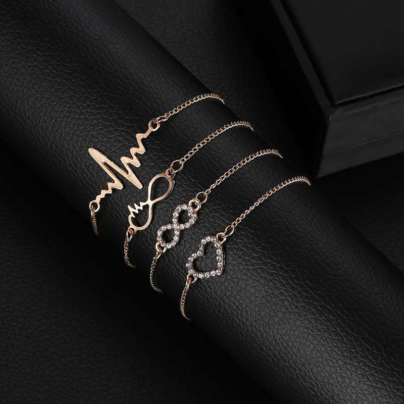 Nowe ramię mankiet proste złoto/srebrny trójkąt ze stopu opaska bransoletka ciało biżuteria dla kobiet