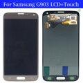 Frete grátis 100% testado original para samsung galaxy s5 neo g903 g903f display lcd completa com tela de toque digitador assembléia