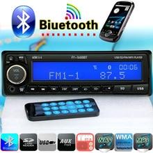 Nueva 12 V Coche Reproductor de MP3 Bluetooth Estéreo FM de Radio de Audio USB SD AUX Auto Electrónica radio autoradio 1 DIN oto teypleri párr carro