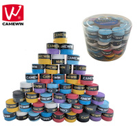 CAMEWIN 60pcs Anti Slip Breathable Sport Over Grip Sweatband Griffband Tennis Overgrips Tape Badminton Racket Grip