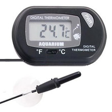 Digital LCD Screen Fish Tank Aquarium Marine Water Terrarium Accessories Thermometer Controller Temperature Home Supplies(China)