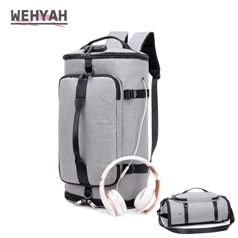 Sac à dos de voyage d'affaires Wehyah hommes sac à dos pour ordinateur portable sac à dos de musique USB sac à dos antivol avec Port de câble usb sacs à bandoulière ZY130