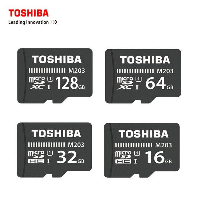 a46147d53cb Toshiba Micro SD TF Card 16GB 32GB 64GB 128GB Memory Card Mini Microsd  95MB S SDHC Exceria sdcard U3 Cards for Mobile Phone