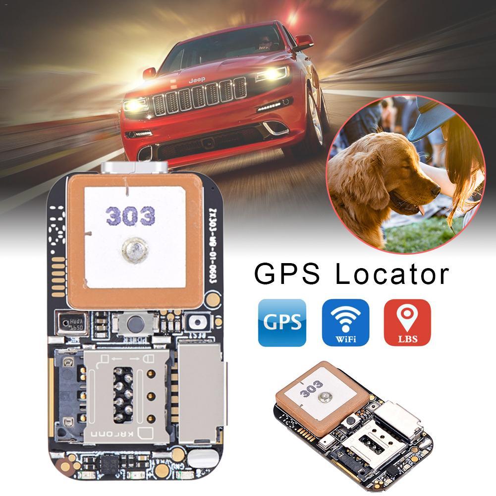 ZX303 PCBA GPS Rastreador GSM GPS Wifi Web APP Rastreamento LBS Localizador Alarme SOS Cartão TF Gravador de Voz SMS Coordenar sistema Dual