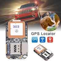 Zx303 pcba gps tracker gsm gps wifi lbs localizador sos alarme aplicativo web rastreamento tf cartão gravador de voz sms coordenar sistema duplo