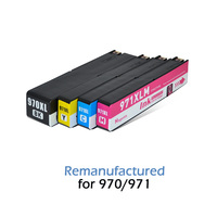 Remanufactured Compatible Ink Cartridge for HP 970XL 971XL for HP970 For HP Officejet Pro X451dn X451dw X551 X576dw X476dw