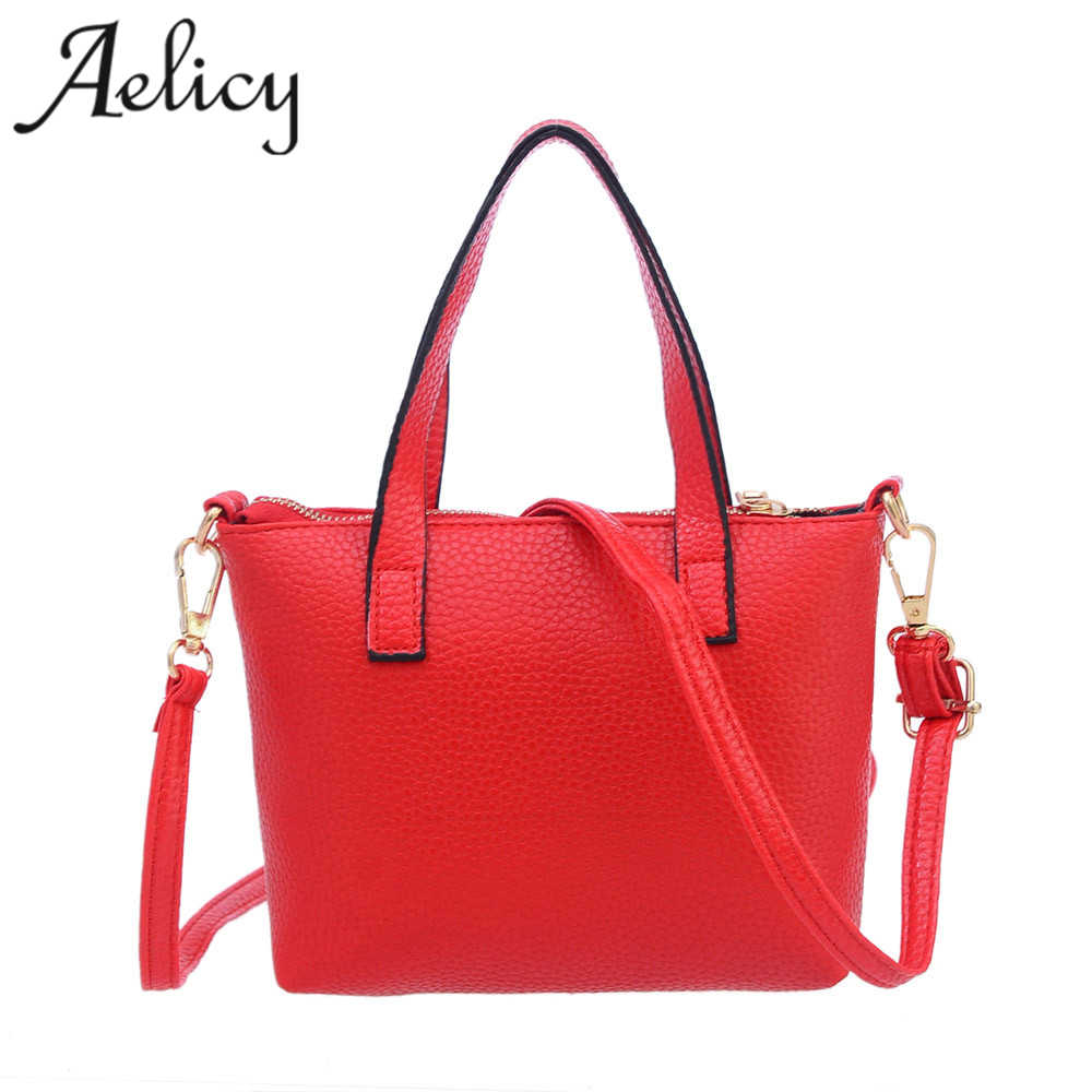 Aelicy Women Fashion Handbag Shoulder Bag Tote Ladies Purse High Quality Women Shoulder Bag Ladies women bags leather brand 2017