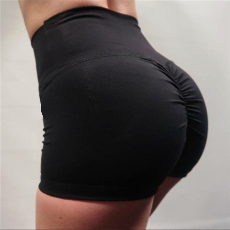 New 2018 Sexy Push Up Bodybuilding Shorts Women Candy Colors Fitness Booty Short Feminino Workout Elastic Waist Sportswear Short
