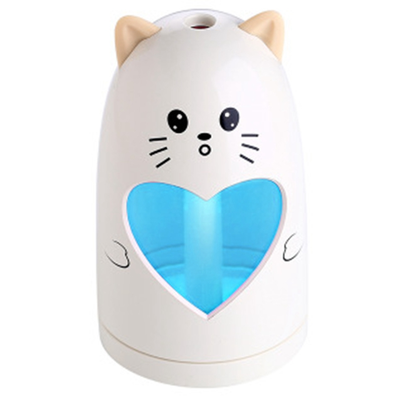 Mini Usb Cute Air Humidifier Silent Ultrasonic Diffuser Colorful Led Light For Home Office CarMini Usb Cute Air Humidifier Silent Ultrasonic Diffuser Colorful Led Light For Home Office Car