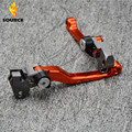 motorcycle increased torque of cnc pivot brake clutch levers For Yamaha  YZ 80/85 1995 1996 1997 1998 1999 2000 2001 2002 -2012