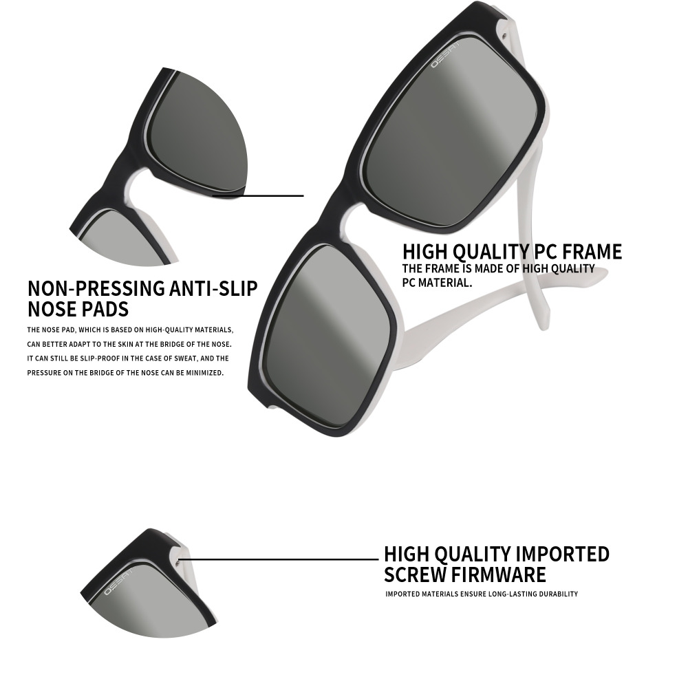 Купить с кэшбэком Men Womens Driving Glassses Pc Polarized Designer Fashion Sports Sunglasses for Baseball Cycling Fishing Golf  Superlight Frame