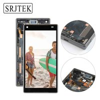 Original For SONY Xperia Z5 Compact LCD Touch Screen With Frame For SONY Xperia Z5 MINI
