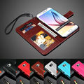 """Luxury Leather Wallet Filp New S6 Edge+ Phone Case Cover For Samsung Galaxy S 6 Edge Plus G9280 5.7"""" With Photo Frame"""