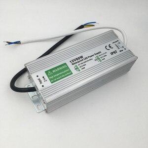 Image 3 - 50W 60W 80W 100W 150W Led Voeding Transformator Waterdicht IP67 Switch Driver 220V 110V Naar DC12V Voor Outdoor Lamp Verlichting
