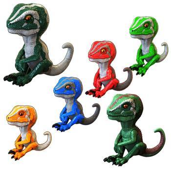 1pc Simulation Dinosaur Decompression Dinosaur Toy Simulation Model Children's Dinosaur Toy Boy Desktop Decoration Birthday Gift