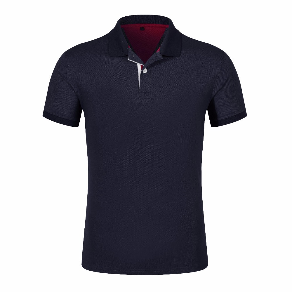 LiSENBAO LiSENBAO New Fashion Men   Polo   Shirt Solid Color Slim Fit   Polo   Cotton Casual   Polos   Shirt Mens SS-4XL Accpet Custom 1809