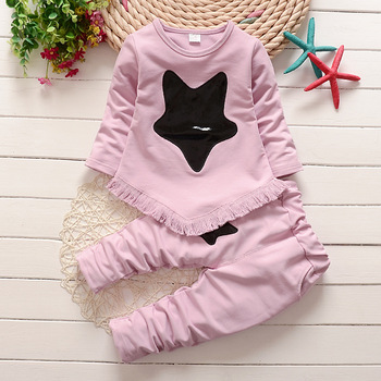 BibiCola new spring autumn girls clothes sets girls casual solid suits fashion party outfits children brand sport clothing suits conjuntos casuales para niñas