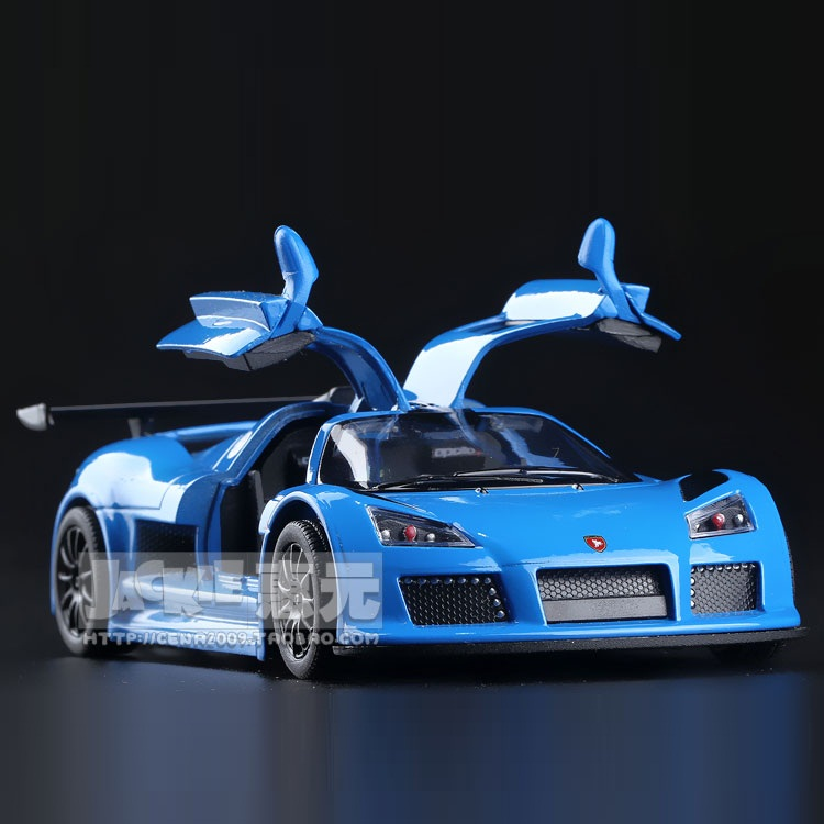 High Simulation Exquisite Diecasts&Toy Vehicles: KiNSMART Car Styling Gumpert Apollo Sports Car 1:36 Alloy Diecast Model Toy Car