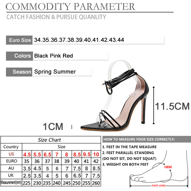 BYQDY Women Pointed Toe High Heels Sandals Summer Shoes Cross tied Lace Up Sandals Pumps Open Toe Cocktail Bride Shoes Size 40 in High Heels from Shoes