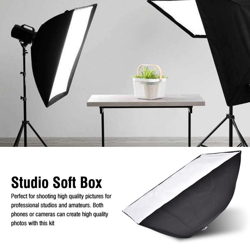 Caméra Photographie Speedlite Flashlight Softbox Photo Studio Accessoires (35*160 cm)