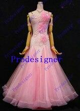 ballroom dance dress Ballroom dancewear dancing costumes HM1608161050 for competition women ballroom dancing Prodesigner