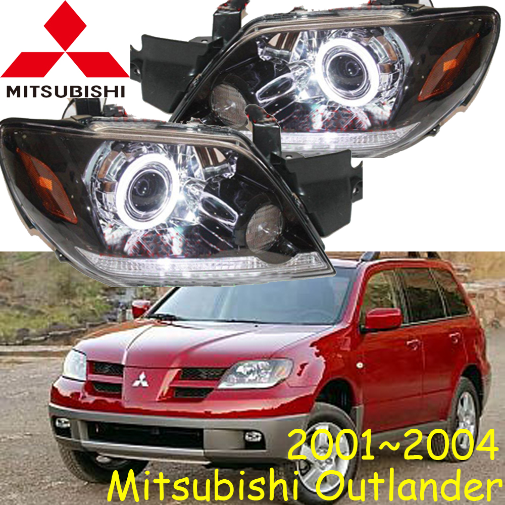 Mitsubish Outlander headlight,2001~2004 (Fit for LHD&RHD),Free ship! Outlander headlight,2ps/se+2pcs Aozoom Ballast,Outlander EX mitsubish grandis headlight 2008 fit for lhd