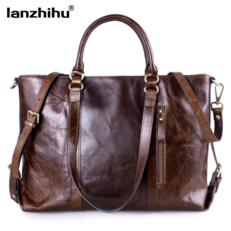 Women's Genuine Leather Handbags Fashion Soft Leather Shoulder Bags Ladies offic