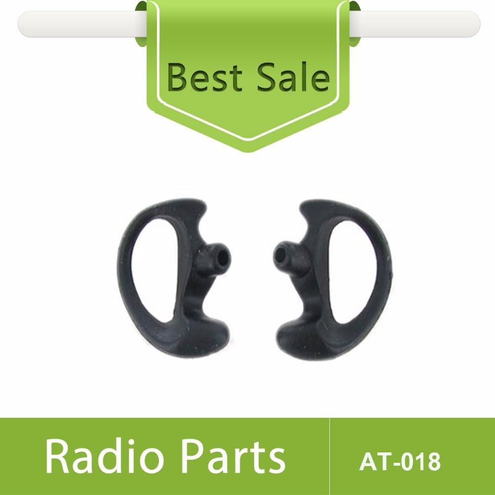 40X (20paari) suurusega mustad kõrvaklapid vasakul ja paremal - Sideseadmed