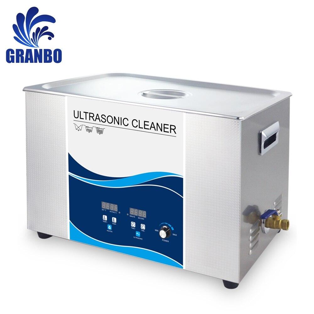 720 W Ultrasone Reiniger 22L Degas Heater 40 KHZ Industriële Reiniging Olie Roest Wax Auto Onderdelen Injector Motor Lab Hardware-in Ultrasone reinigers van Huishoudelijk Apparatuur op  Groep 1