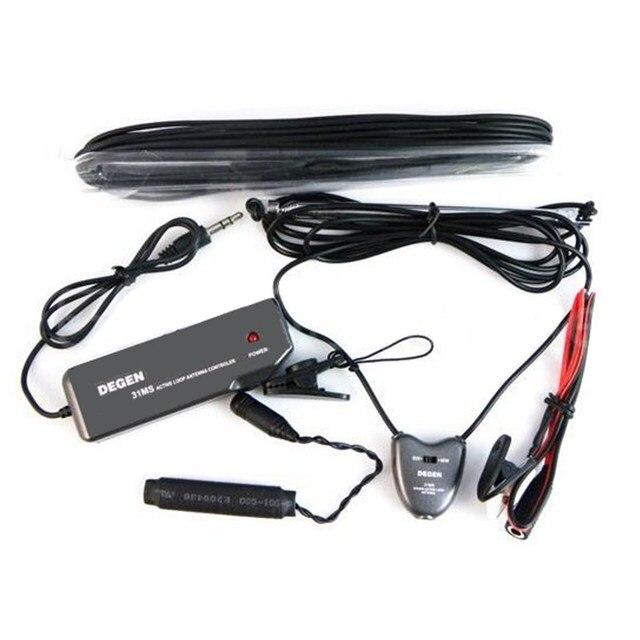 Оригинальный Degen Радио Антенна DE31MS Крытый Active Soft Loop Антенна Для MW & SW FM Портативный Радиоприемник Портативный Мини Accssory