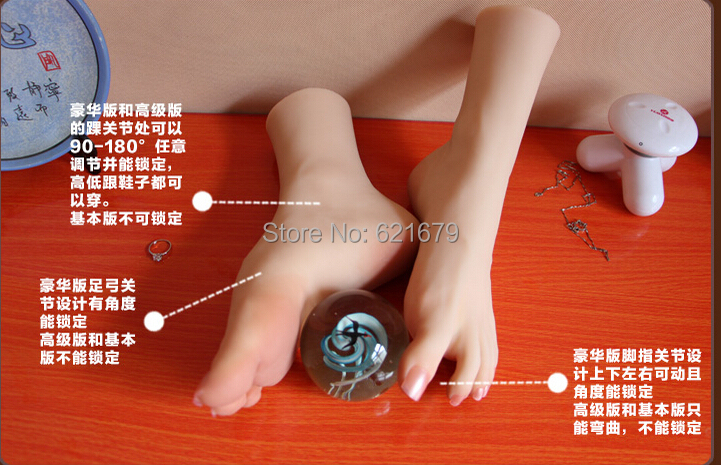 NEW sexy girls gorgeous pussy foot fetish feet lover toys clones model high arch sex dolls product feet worship 34