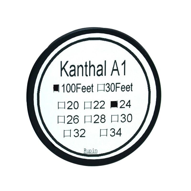 1 PCS/30 metros Kanthal-A1 Diâmetro do fio da bobina de 100 PÉS (0.5mm) fio de Resistência fio de aquecimento fio de aquecimento Da Liga