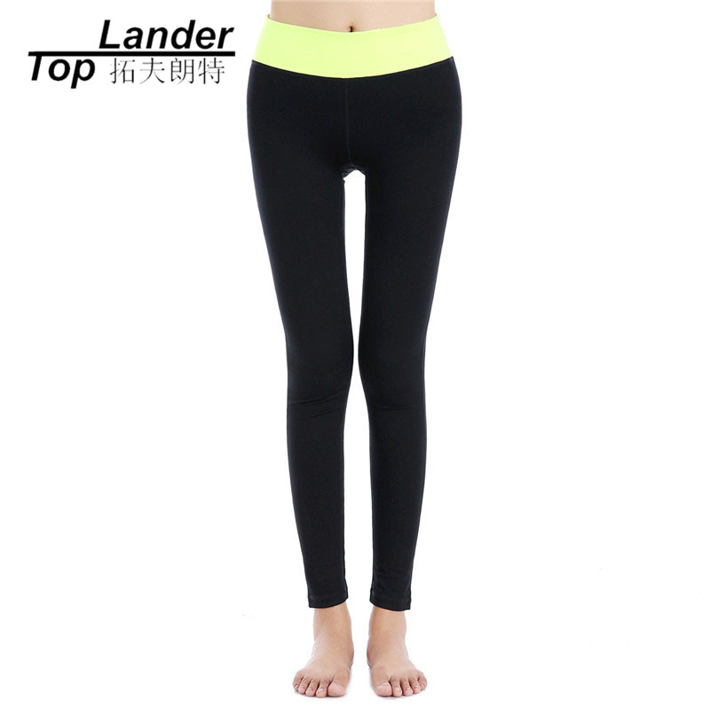 Compression Pants Women Leggings Girl Gym Pants Quick Dry Fitness Sports High Waist Elastic Yoga Pants